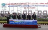 Chủ tịch nước khởi động đồng hồ đếm ngược chào mừng APEC 2017