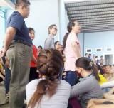 Bến Lức: Công nhân Cty TNHH Hồng Dương Quốc tế tiếp tục tụ tập khiếu nại