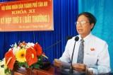 HĐND TP.Tân An (khóa XI) thông qua Nghị quyết thành lập phường Lợi Bình Nhơn và Bình Tâm