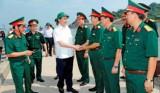 Chủ tịch nước Trần Đại Quang thăm lực lượng Biên phòng Nghệ An