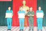 Ban CHQS huyện Châu Thành đoạt giải nhất Hội thi Chỉ huy trưởng Ban CHQS xã, phường, thị trấn giỏi năm 2017