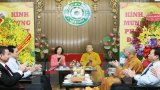 Ban Dân vận TW chúc Giáo hội Phật giáo Việt Nam nhân lễ Phật đản