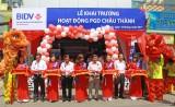 BIDV chi nhánh Long An khai trương Phòng giao dịch Châu Thành