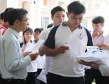 Long An có 36 thí sinh vắng thi môn Ngữ văn, 41 thí sinh vắng thi môn Toán