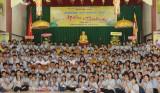 Gần 300 thanh, thiếu niên phật tử tham gia khóa tu mùa hè