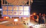 Xe tải va chạm xe máy làm 2 người tử vong