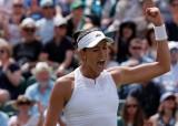 Muguruza đánh bại hạt giống số 1 Kerber ở vòng 4 Wimbledon