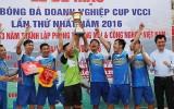 24 đội phủi hàng đầu dự giải bóng đá doanh nghiệp toàn quốc