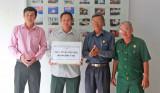 Trao tặng tiền xây nhà tình thương cho cựu chiến binh