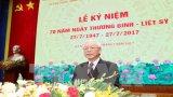 Lãnh đạo Đảng, Nhà nước dự lễ kỷ niệm 70 năm Ngày Thương binh-Liệt sĩ