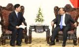 Thủ tướng Nguyễn Xuân Phúc tiếp một số tập đoàn Trung Quốc