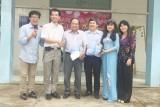 Tập đoàn An Nông trao quà cho Trung tâm Bảo trợ Xã hội tỉnh Long An