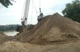 Giá cát xây dựng trên cả nước tiếp tục tăng cao