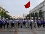 SEA Games 29: Hơn 5.000 người đi bộ cổ vũ đoàn thể thao Việt Nam