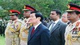 Triển lãm sách ảnh về nguyên Chủ tịch nước Trương Tấn Sang