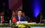 Phó Thủ tướng Phạm Bình Minh gặp Ngoại trưởng Nhật Bản và Hàn Quốc