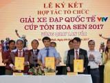 Công bố Giải xe đạp Quốc tế VTV - Cúp Tôn Hoa Sen 2017