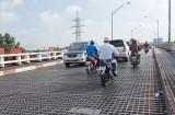 Cầu Tân An 1, cầu Bến Lức vỉ thép tiềm ẩn nguy cơ mất an toàn giao thông