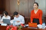 Đoàn công tác Bộ Nội vụ làm việc với tỉnh Long An