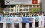 Đoàn Thanh niên tình nguyện Chungcheongnam-do đến Long An