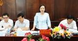 Bộ trưởng Bộ Y tế khảo sát công tác y tế và dân số tại Long An