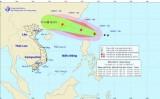 Tin bão gần Biển Đông