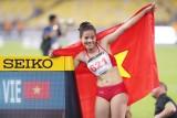 Nguyễn Thị Huyền phá kỉ lục SEA Games, đoạt HCV 400m rào