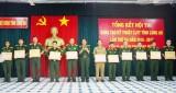 Khen thưởng 4 tập thể, 10 cá nhân trong Hội thi Sáng tạo kỹ thuật LLVT tỉnh Long An lần 3