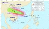 Bão số 10 sẽ mạnh thêm và tiến vào vùng bờ biển Nghệ An đến Quảng Trị