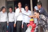 Cần Giuộc: Khánh thành công trình cấp nước cho các xã vùng hạ