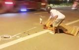Nạn nhân bị xe bồn cán tử vong là Phó Chủ tịch Liên đoàn Võ thuật TP.Tân An