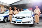 Long An phân công 8 cán bộ, chiến sĩ Cảnh sát giao thông phục vụ APEC 2017