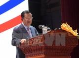 Thủ tướng Campuchia Samdech Hun Sen dẫn đầu đoàn đại biểu dự APEC 2017