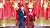 Chủ tịch Quốc hội Nguyễn Thị Kim Ngân hội kiến Tổng Bí thư Trung Quốc