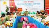 Công an tỉnh Long An được đề nghị nhận Cờ thi đua của Chính phủ