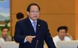 Bộ trưởng Trương Minh Tuấn đăng đàn trả lời chất vấn trước Quốc hội
