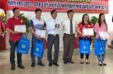 92 sinh viên Đại học KTCN Long An được trao học bổng tại Lễ khai giảng năm học 2017-2018