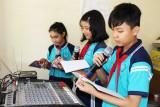 Chương trình phát thanh măng non: Góp phần rèn luyện kỹ năng sống cho học sinh