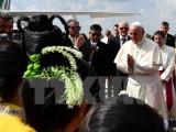 Giáo hoàng Francis có chuyến thăm đầu tiên tới Myanmar
