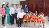 Trung tâm Bảo trợ xã hội tỉnh Long An - Nơi ấm áp tình người