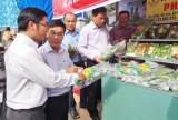 Cần Giuộc: Khai trương cửa hàng bán rau an toàn Phước Thịnh