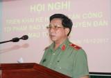 Công An tỉnh mở cao điểm tấn công tội phạm Tết Nguyên Đán 2018