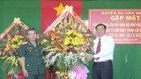 Cần Giuộc: Gặp mặt cán bộ Quân đội nhân ngày thành lập Quân đội Nhân dân Việt Nam
