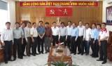 Cần Giuộc: Nguyên Chủ tịch nước Trương Tấn Sang vận động 2 tỉ đồng xây dựng cầu giao thông nông thôn