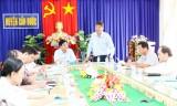 Cần Đước: Phó Chủ tịch UBND tỉnh – Phạm Văn Cảnh kiểm tra công tác phòng chống bão số 16 (Tembin)
