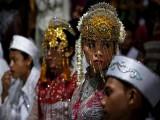 Hơn 430 cặp đôi Indonesia làm đám cưới tập thể nhân dịp Năm mới
