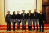 Đại sứ Việt Nam Đặng Minh Khôi gặp gỡ báo giới Trung Quốc