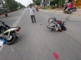 Bị chấn thương nặng vì va chạm xe mô tô đi cùng chiều