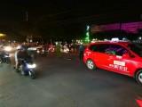 Taxi va chạm môtô, 1 thanh niên bị thương nặng