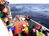 Vượt mưa gió, sóng cao, đưa hàng Tết ra đảo Trường Sa Đông